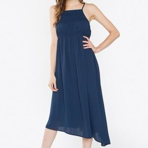 NEW Briella Navy Midi Dress